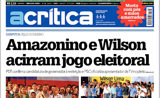CLASSIFICADOS ACRÍTICA SEGUNDA FEIRA