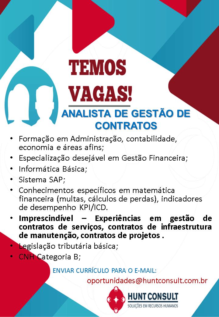 OPERADOR DE MÁQUINA – ASSISTENTE DE VENDAS – PADEIRO – ANALISTA DE GESTÃO DE CONTRATOS