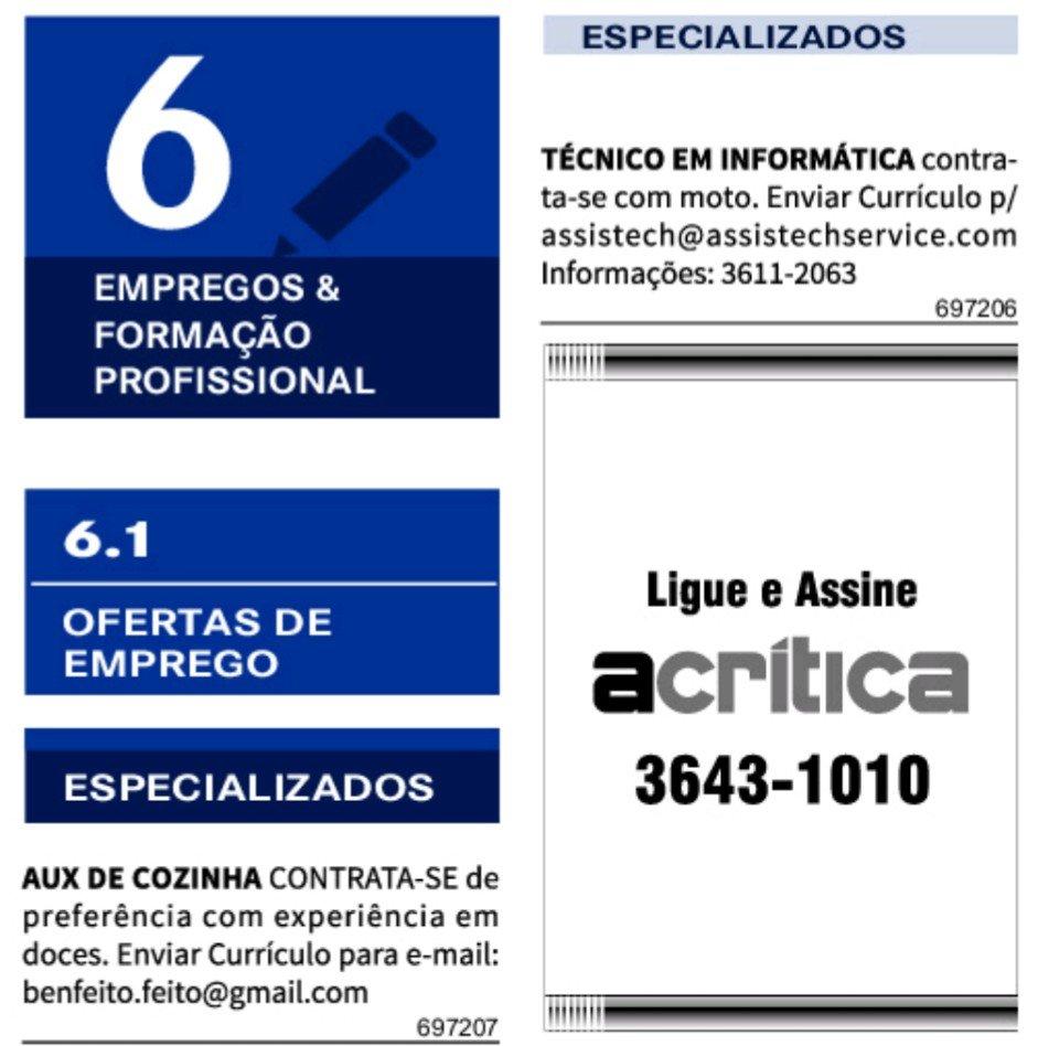 IMG 20201119 131610 - Classificados Jornal Acrítica Quinta feira