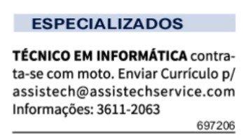 IMG 20201123 110817 - Classificados Jornal Acrítica Segunda Feira