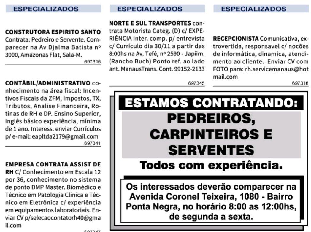 IMG 20201127 084759 - Classificados Jornal Acrítica Sexta Feira