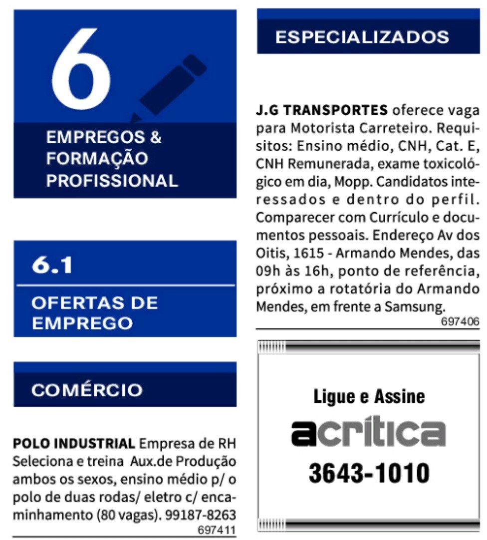 IMG 20201201 094833 - Classificados Jornal Acrítica Terça Feira