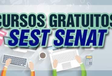 Sest Senat oferta cursos gratuitos nas áreas
