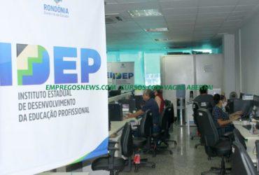 1 mil vagas abertas em cursos gratuitos do IDEP