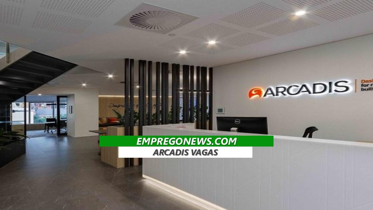Arcadis está oportunidades aberta em todo o Brasil