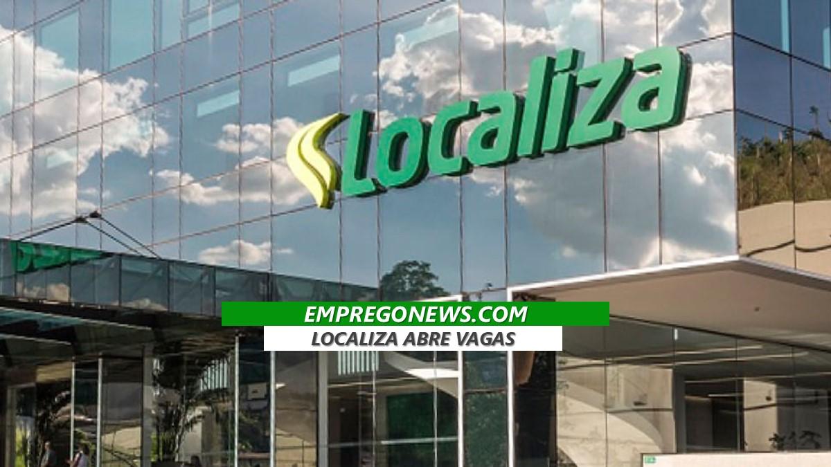 LOCALIZA VAGAS DE TRABALHO - A Localiza oferece vagas de emprego em todo o brasil
