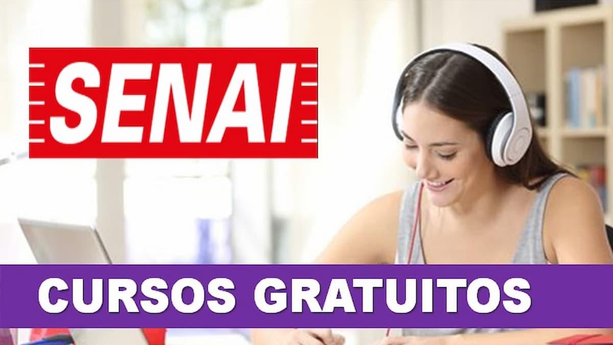 SENAI esta com mais de 2.300 vagas abertas - SENAI está com mais de 2.300 vagas abertas de cursos gratuitos
