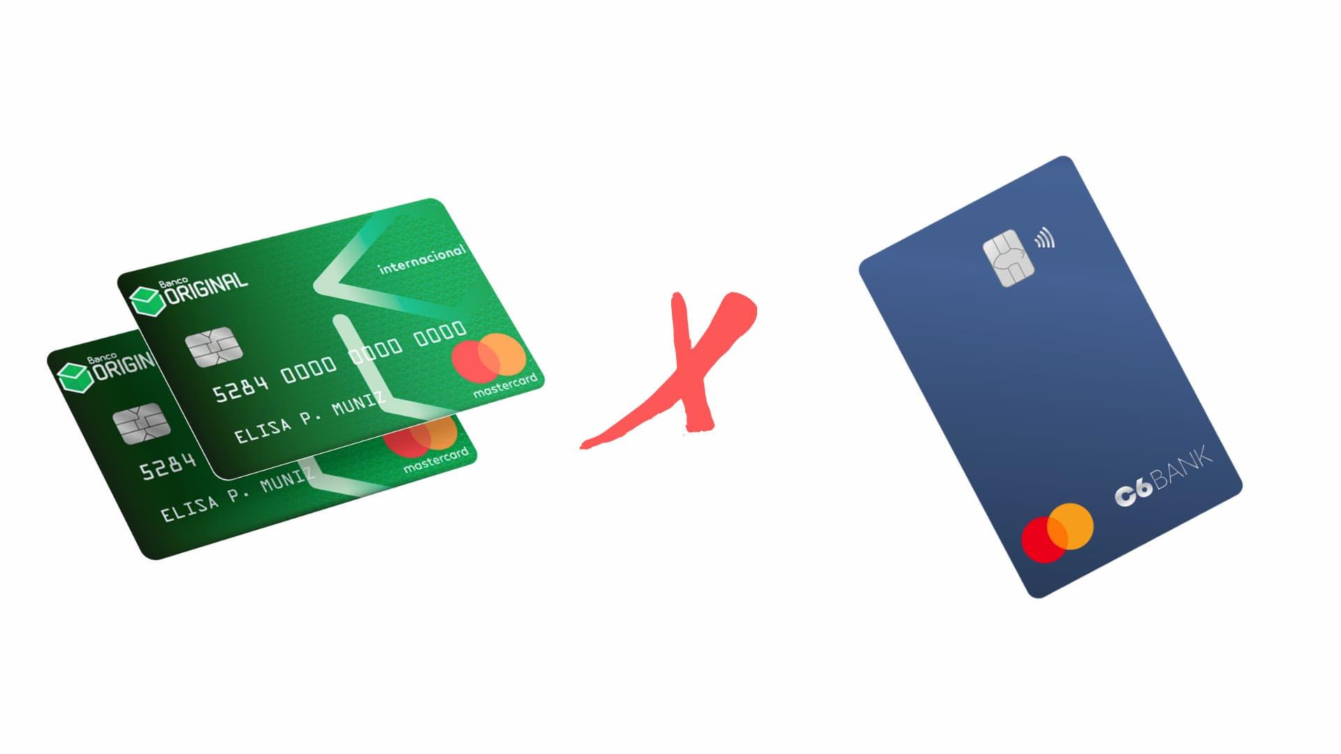 Qual cartao de credito e melhor Original ou C6 Bank2 - Qual cartão de crédito é melhor Original ou C6 Bank