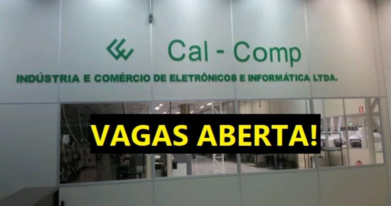 CAL COMP abre vagas - Home