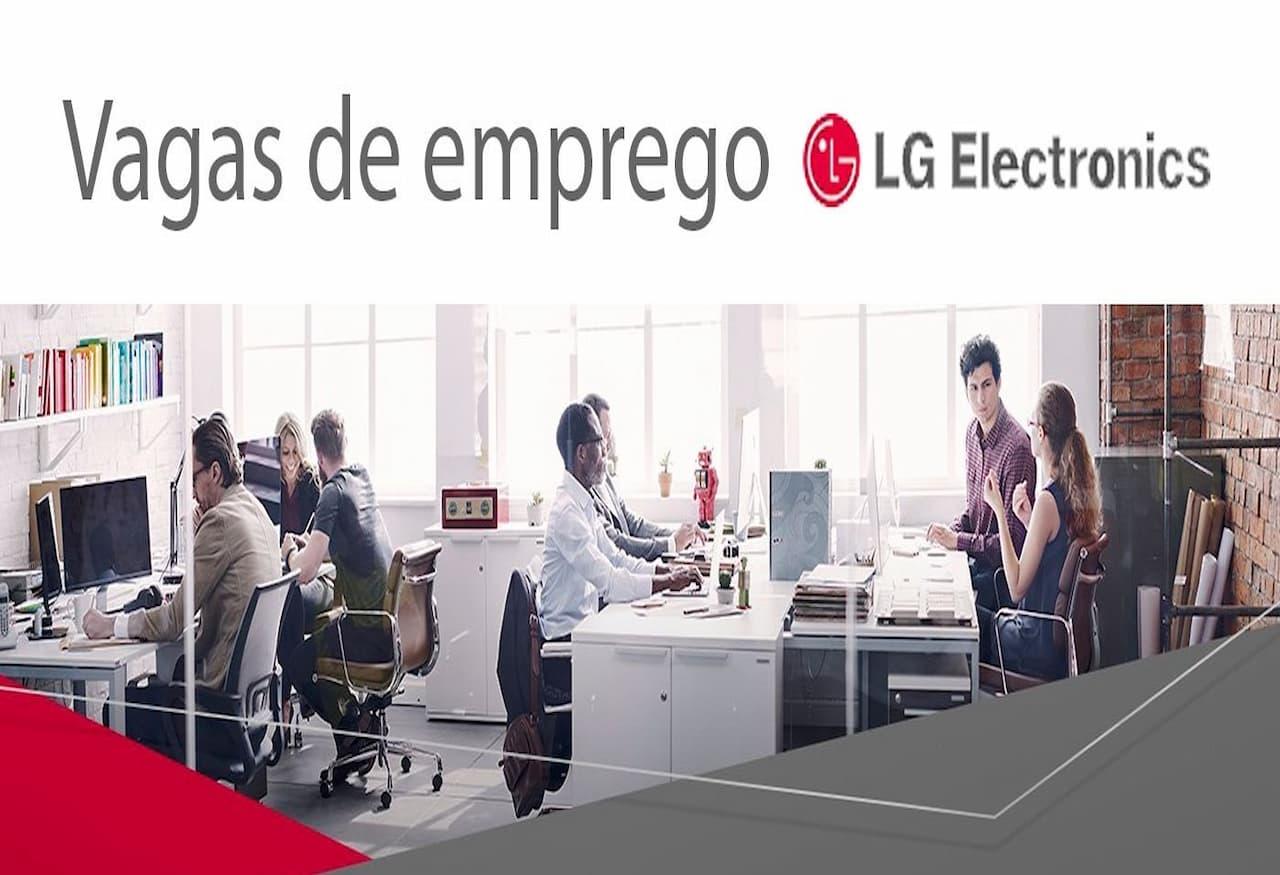 LG abre oportunidades para estudantes - LG abre seleção para estudantes do ensino superior